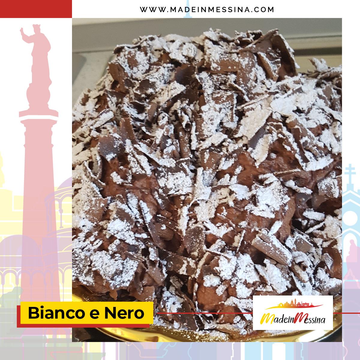 Dimenticate i profiteroles, a Messina si mangia il Bianco e Nero!